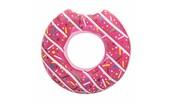 Dětský velký nafukovací kruh Bestway DONUT růžový