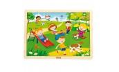 Dětské dřevěné puzzle Viga Jaro